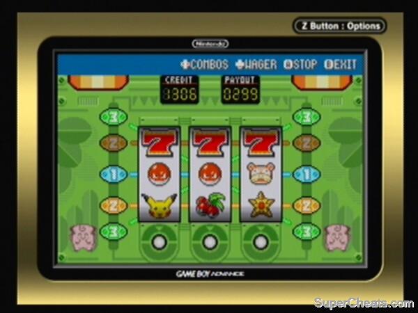 Pokemon leaf green slots tips
