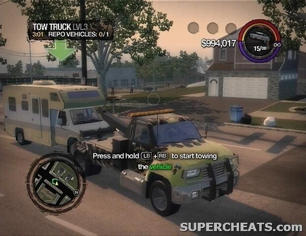 Saints Row  How To Tow A Car