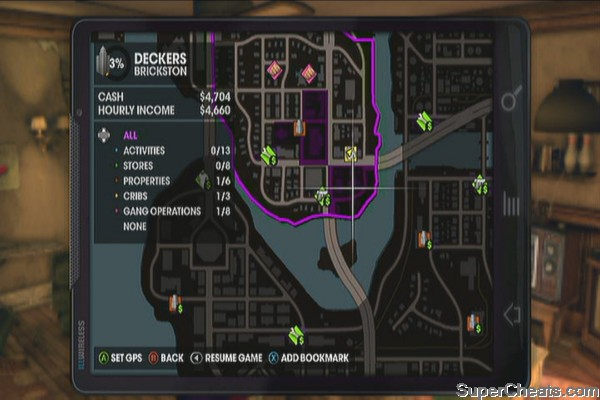 saints row 2 how to use grenade launcher