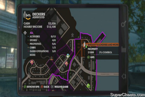 Saints Row  Car Mechanic Locations