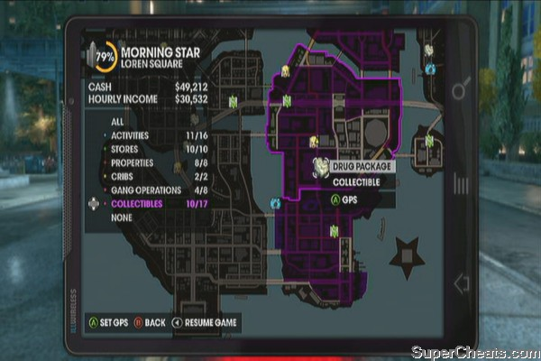 Collectibles - Saints Row The Third Guide