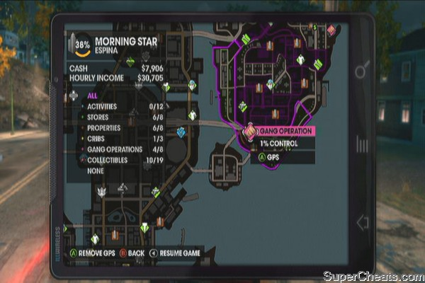 gang operation locations saints row the third