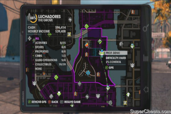 The Grove - Saints Row The Third Guide on saints row the third activities map, saints row 2 activities map, saints row 4 activities map,