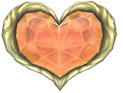 Image result for heart container twilight princess