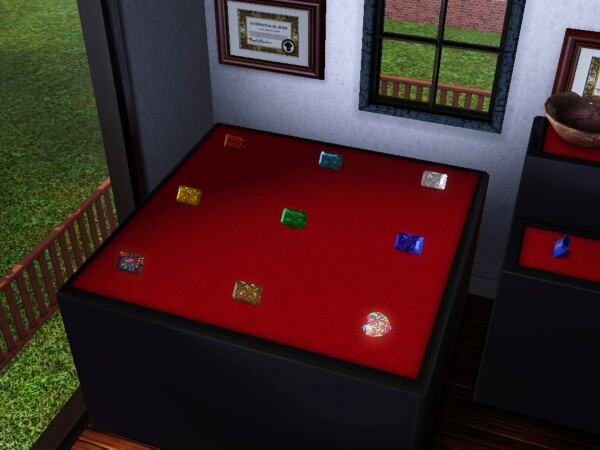 collectibles and collecting rocks and gems the sims 3. Black Bedroom Furniture Sets. Home Design Ideas