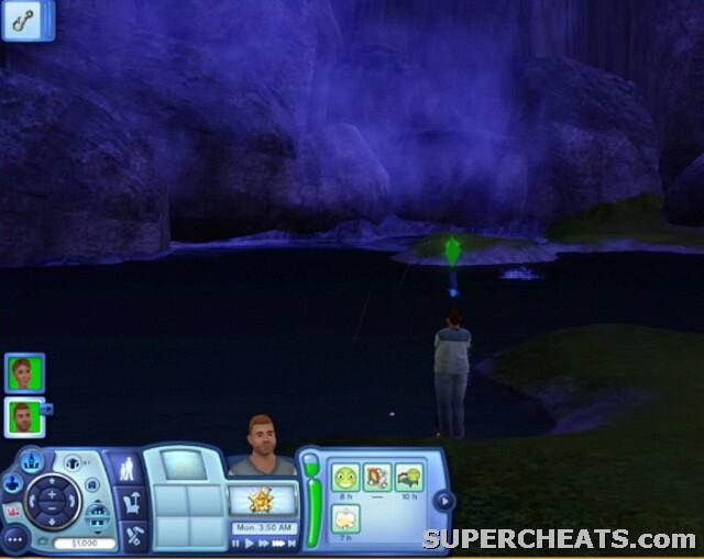 fishing the sims 3 guide rh supercheats com Sims 3 Hair Sims 3 University Life
