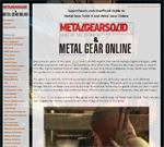 Metal Gear Solid 2: Sons of Liberty Guide