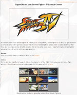 Street Fighter IV Guide