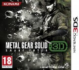 Metal Gear Solid Snake Eater 3D Pack Shot