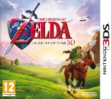 The Legend of Zelda: Ocarina of Time 3D Pack Shot
