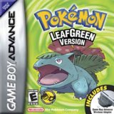 Pokemon LeafGreen Pack Shot