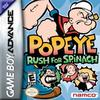 Popeye: Rush for Spinach Pack Shot