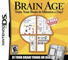 Brain Age: Train Your Brain in Minutes a Day Pack Shot