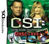 CSI: Crime Scene Investigation: Unsolved! Pack Shot
