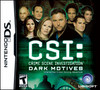 CSI: Dark Motives Pack Shot