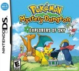 Pokemon Mystery Dungeon: Explorers of Sky Pack Shot