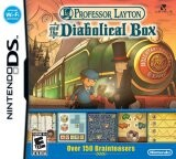 Professor Layton and the Diabolical Box Pack Shot