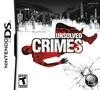 Unsolved Crimes Pack Shot