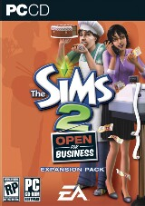 The Sims 2: Open for Business Pack Shot