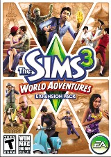 The Sims 3: World Adventures Pack Shot