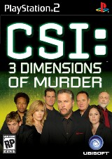 CSI: 3 Dimensions of Murder Pack Shot