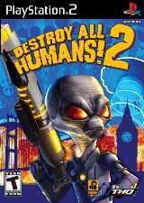 Destroy All Humans! 2 Pack Shot