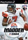Madden NFL 2004 PlayStation 2