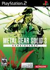 Metal Gear Solid 3: Subsistence PlayStation 2