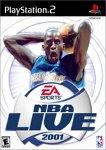NBA Live 2001 Pack Shot
