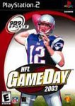 NFL Gameday 2003 Pack Shot