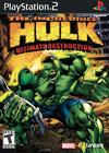 The Incredible Hulk: Ultimate Destruction Pack Shot