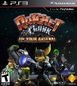 Ratchet & Clank: Up Your Arsenal Pack Shot