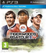 Tiger Woods PGA Tour 14 Pack Shot