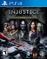 Injustice: Gods Among Us Pack Shot