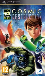 Ben 10 Ultimate Alien: Cosmic Destruction Pack Shot
