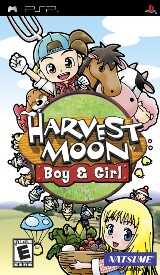 Harvest Moon: Boy & Girl Pack Shot