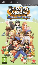 Harvest Moon: Hero of Leaf Valley Pack Shot