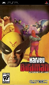 Harvey Birdman: Attorney at Law Pack Shot