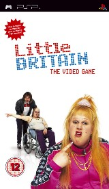 Little Britain the Video Game Pack Shot