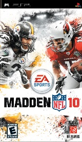 Madden NFL 10 Pack Shot