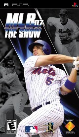 MLB 07 The Show Pack Shot