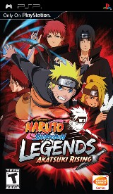 Naruto Shippuden Legends: Akatsuki Rising Pack Shot