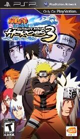 Naruto Shippuden: Ultimate Ninja Heores 3 Pack Shot
