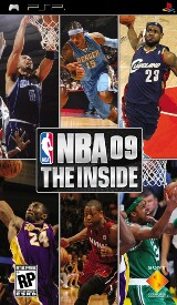 NBA 09 The Inside Pack Shot