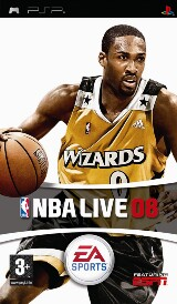 NBA Live 08 Pack Shot