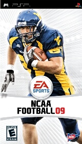 NCAA Football 09 Pack Shot