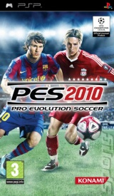 Pro Evolution Soccer 2010 Pack Shot