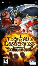 Untold Legends: The Warrior's Code Pack Shot