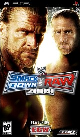 WWE SmackDown! vs. RAW 2009 Pack Shot