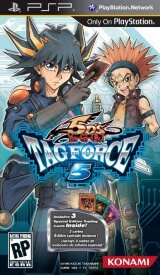 Yu-Gi-Oh! 5Ds Tag Force 5 Pack Shot